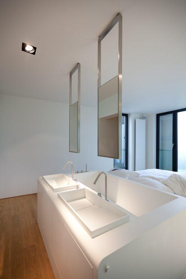 Top Bathroom Mirrors   Ceiling Mounted Design   Hangingflickr Medium
