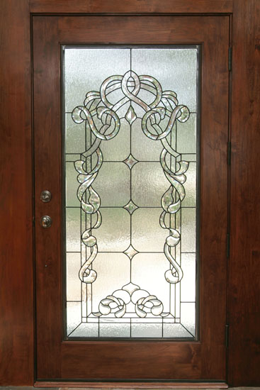 Top Beveled Stained Glass Scottish Stained Glass Medium