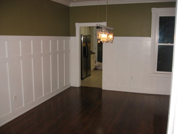 Top Capitol Hill Christensens Wainscoting  Dining Room Complete Medium