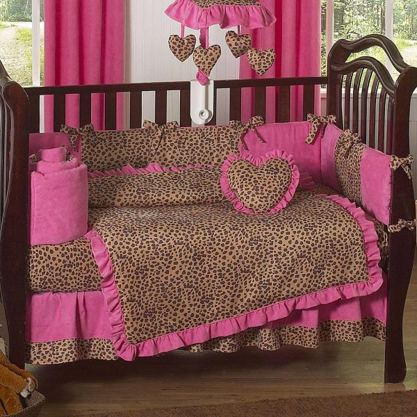 Top Cheetah Crib Bedding Set Home Furniture Design Medium