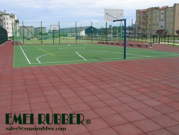Top China Outdoor Playground Rubber Flooring For Children Medium