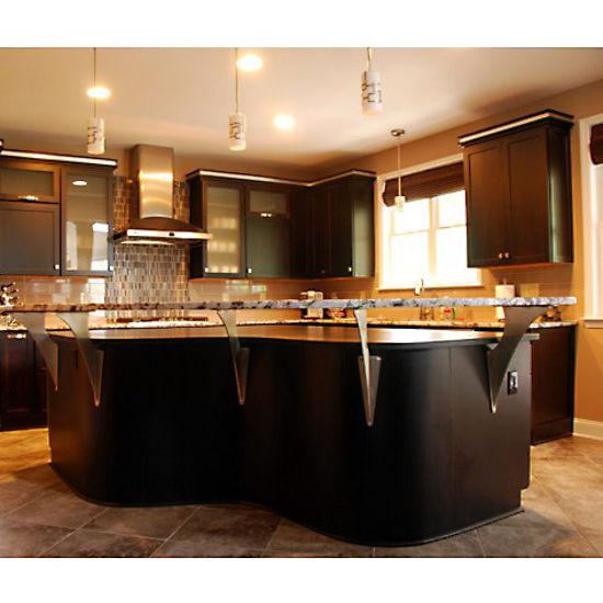 Top Creating A Floating Countertop Or Breakfast Bar Is Medium