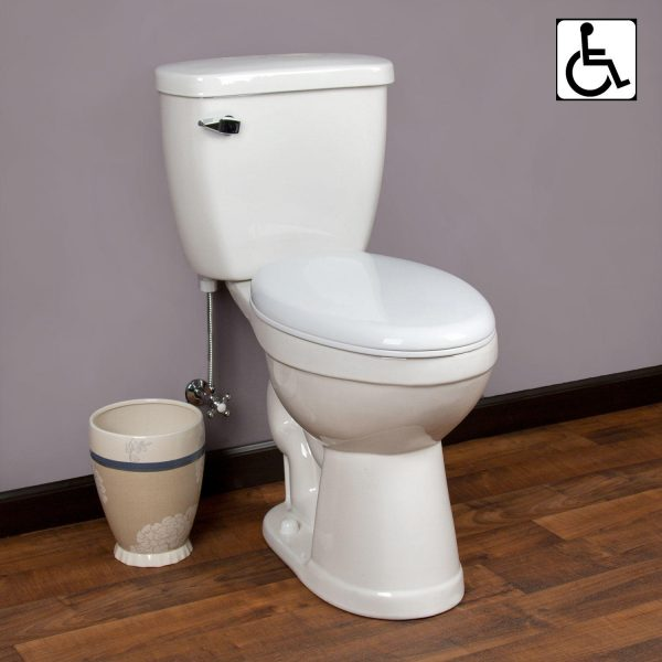 Top Dawid Siphonic Onepiece Elongated Toilet Ada Compliant Medium
