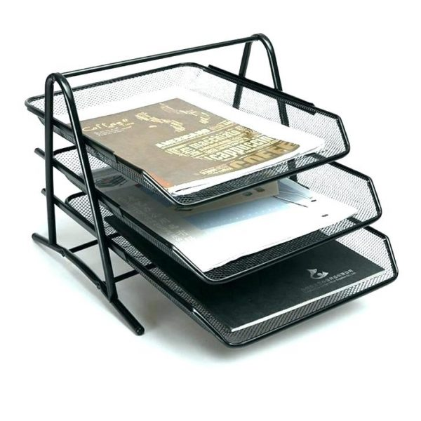 Top Desk Paper Holder Desk Paper Holder Amazon Com Mesh Medium