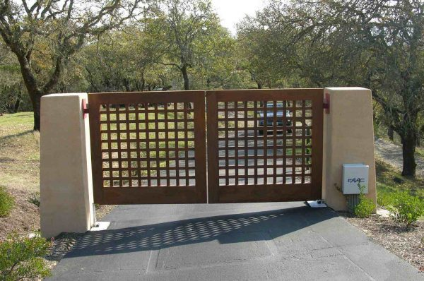 Top Driveway Gate Ideasmodern   Contemporary Medium