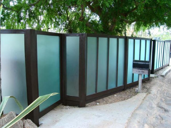 Top   Fencing Solutions   Plexiglass Fence Modern Fence Design Medium