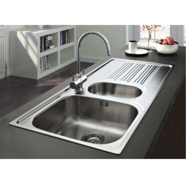 Top Franke Galileo Gox 651 Stainless Steel Sink Baker And Soars Medium
