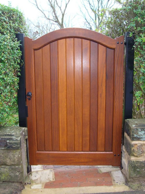 Top Garden Gate Wood Stain Woodworking Projects   Plans Medium