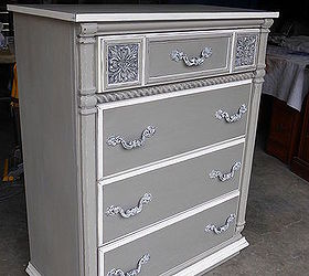 Top Hometalksophisticated Grey Painted Lady Dresser Medium