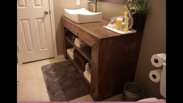 top how to build a bathroom vanity medium