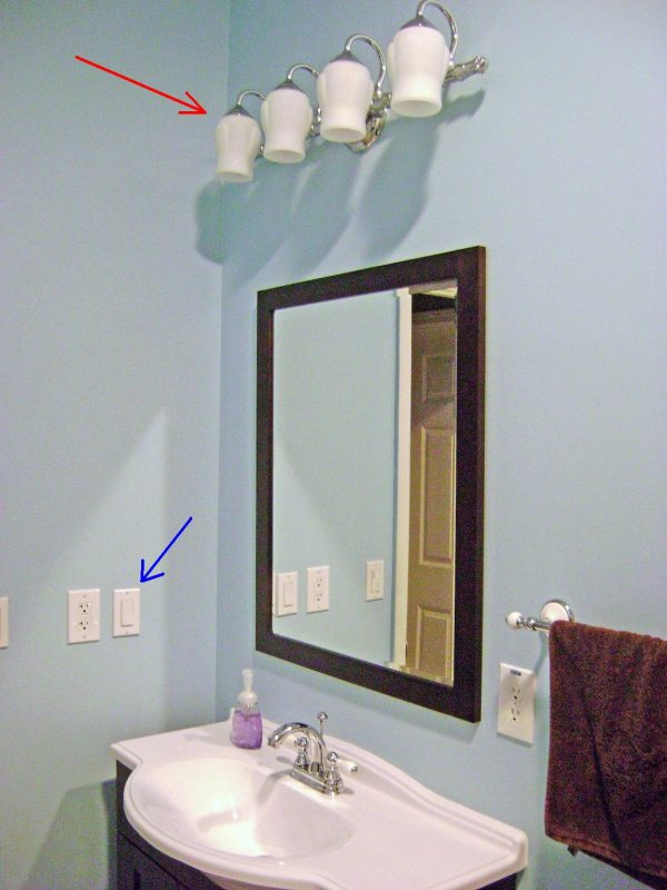 Top How To Finish A Basement Bathroom Vanity Light Wiring Medium