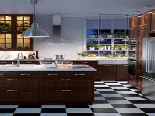 Top Kitchenblack And White Kitchen Floor Tiles Tiled Medium