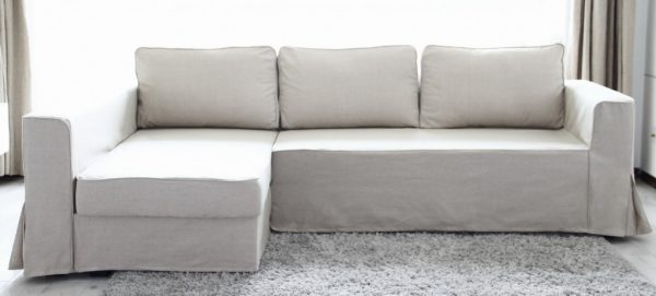 Top Loose Fit Linen Manstad Sofa Slipcovers Now Available Medium