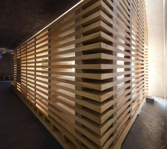 Top Modular Wooden Tree Of Life Chapel Features Slatted Walls Medium