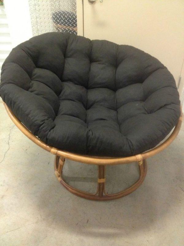 Top Pier 1 Thick Cushion Papasan Chairebay Medium
