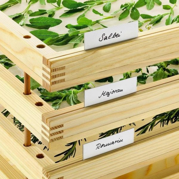 Top Pinewood Herb Dryer Rack System Gardenista Medium