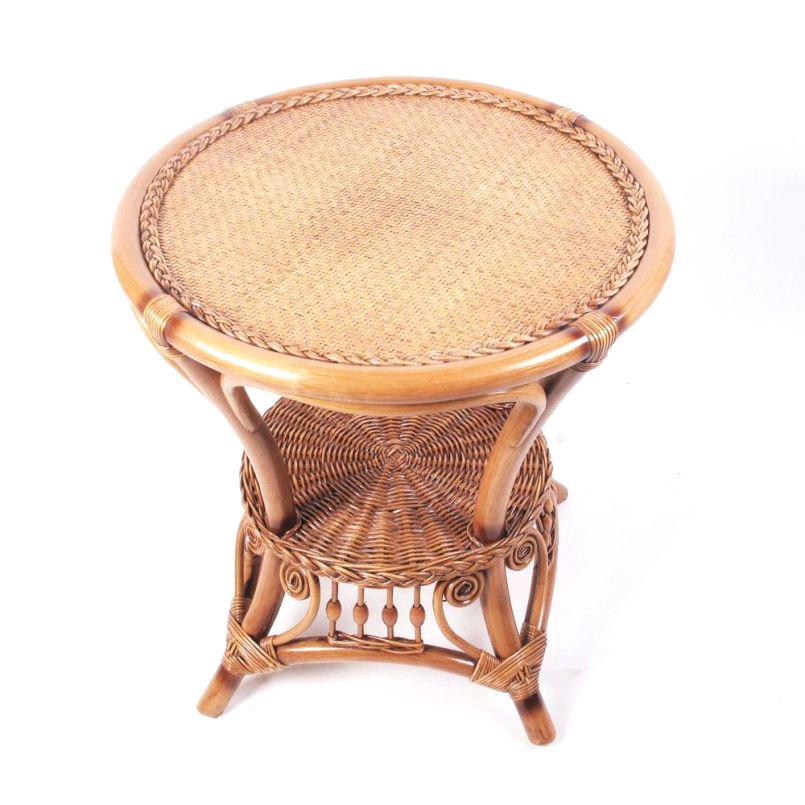 top round wicker ottoman ikea glass coffee table rattan