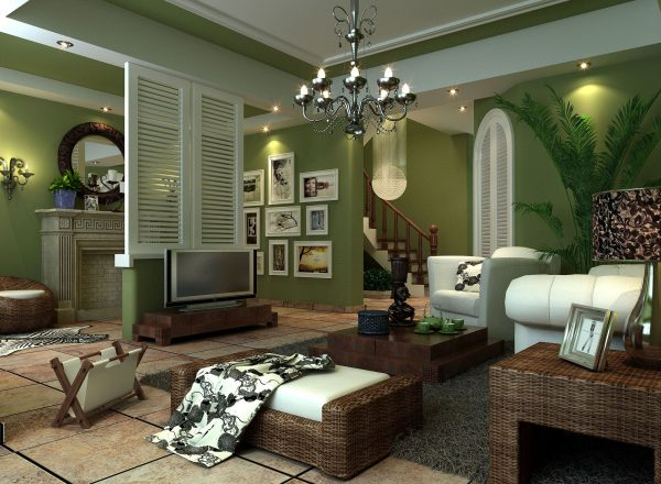 Top Sage Green Living Room Home Design Ideas And Pictures Medium