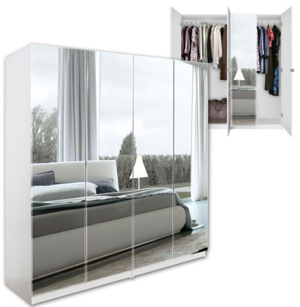 Top Standing Closets With Mirror Doors Interior Designs Medium
