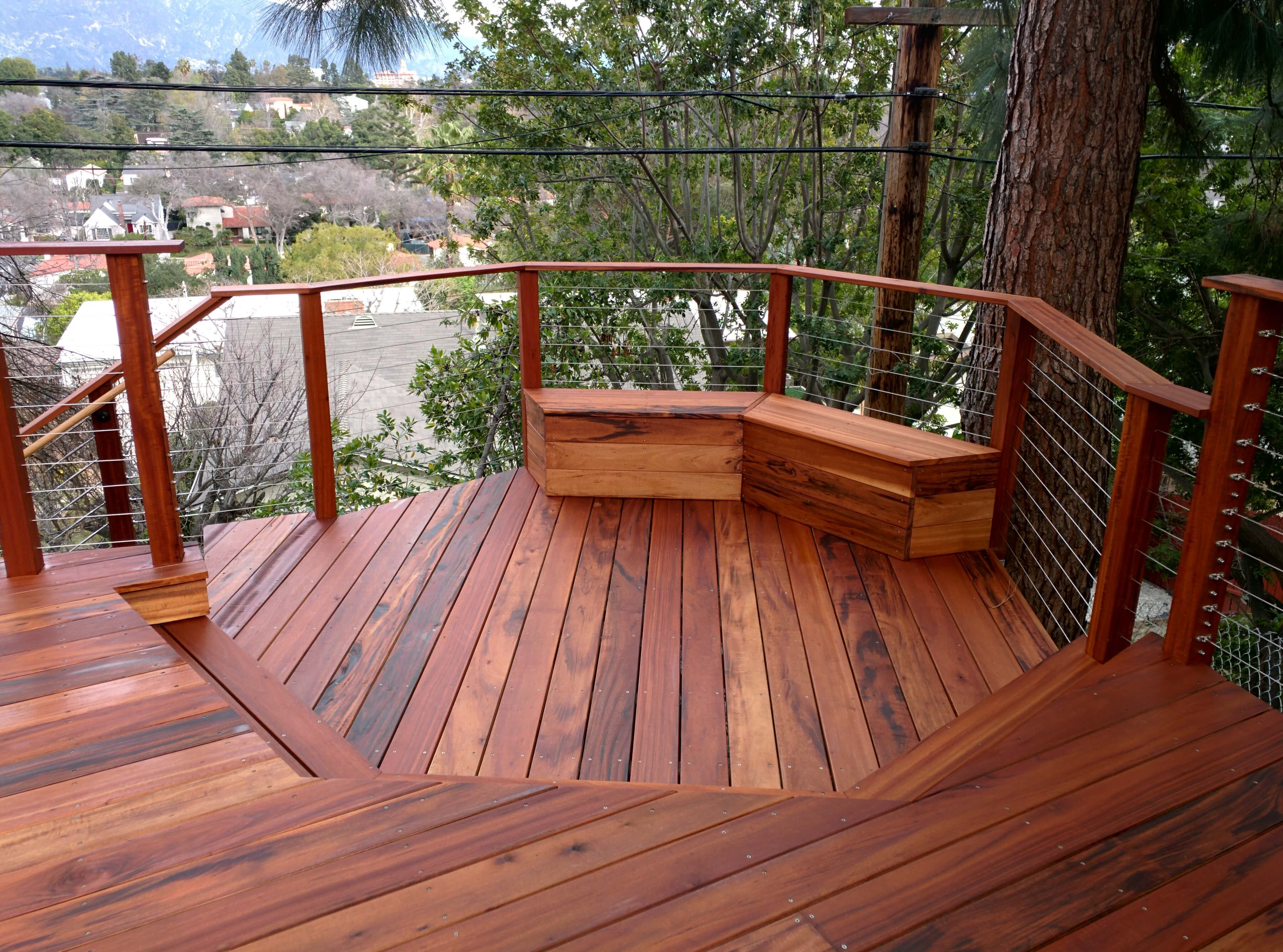 top wood deck installation prices estimate the cost of
