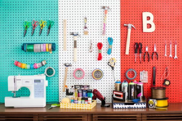 We Share 10 Craft Room Pegboard Organization Ideasdawn Nicole Medium