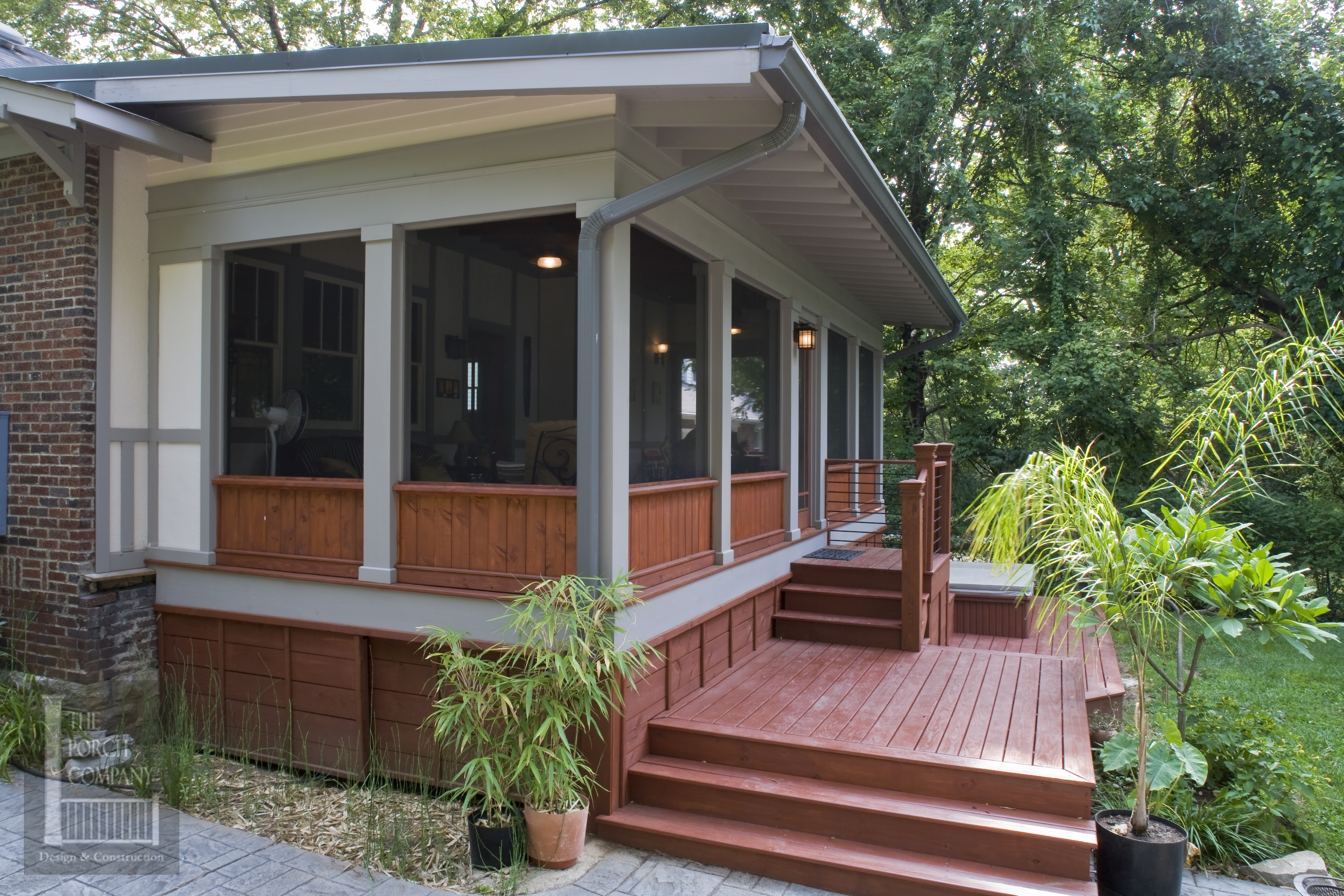 we share adding screen porch to ranch house