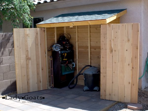 We Share Ana Whitesmall Cedar Fence Picket Storage Shed Diy Medium