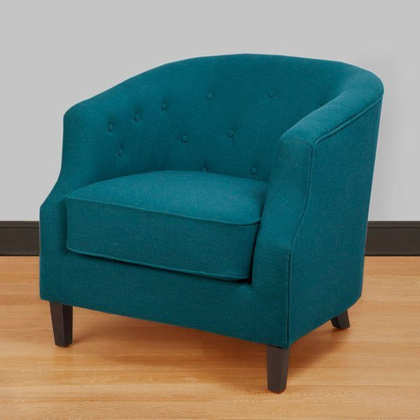 We share Ansley Peacock Blue Tub Chair Free Shipping Today