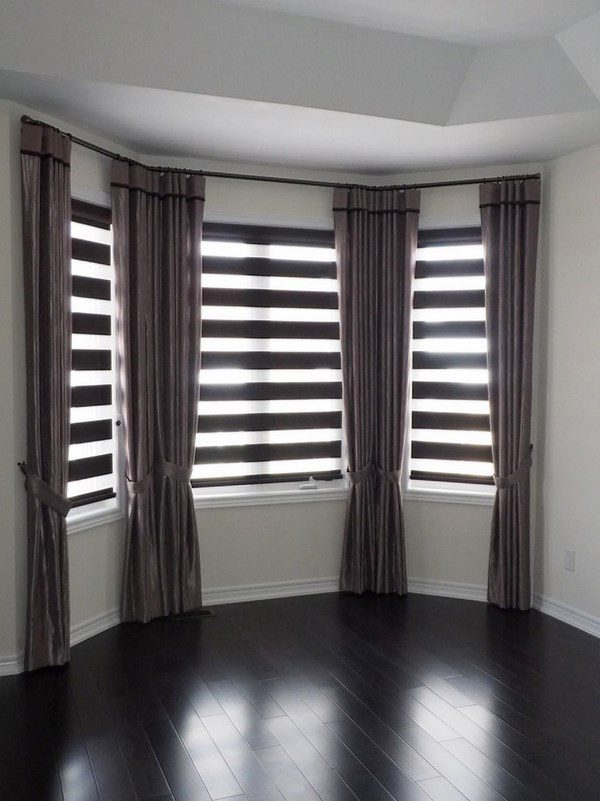 We Share Bay Window Blinds Ideas  How To Dress Up Your Bay Window Medium