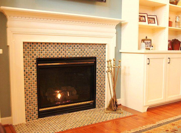 we share beautiful interior the most glass tile fireplace surround