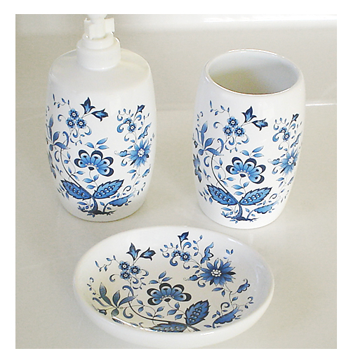 We Share Blue And White Porcelain Bathroom Accessoriesmy Web Value Medium