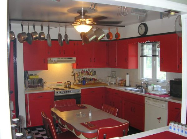 We Share Camporeale Retro 50s Kitchen Medium
