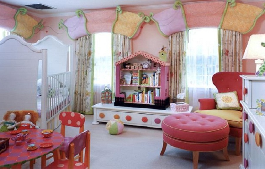 we share cheap colorful kids room decorating ideas for girls kids
