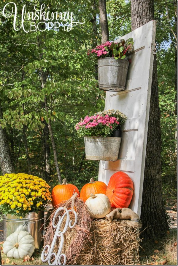 We Share Fall Porch Decor With Plants And Pumpkins Unskinny Boppy Medium