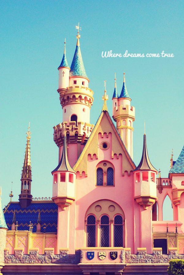 We Share Fine Art Photography Disneyland Castle Princess Disney Blue Medium
