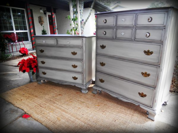 We Share Grand Gray Painted Tall Dresser Bedroom Gray Furniture Medium