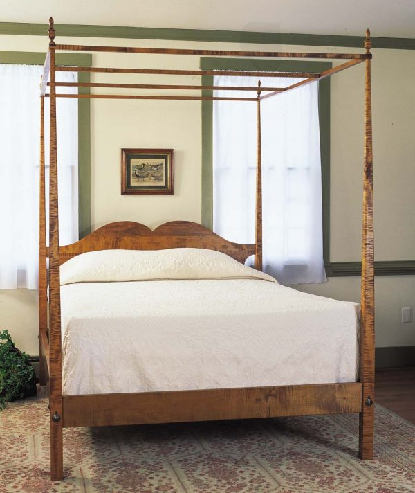 We Share High And Pencil Post Bedvermont Furniture Works Medium
