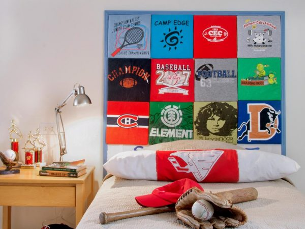 We Share How To Make A Headboard Out Of Old Tshirtshowtosdiy Medium