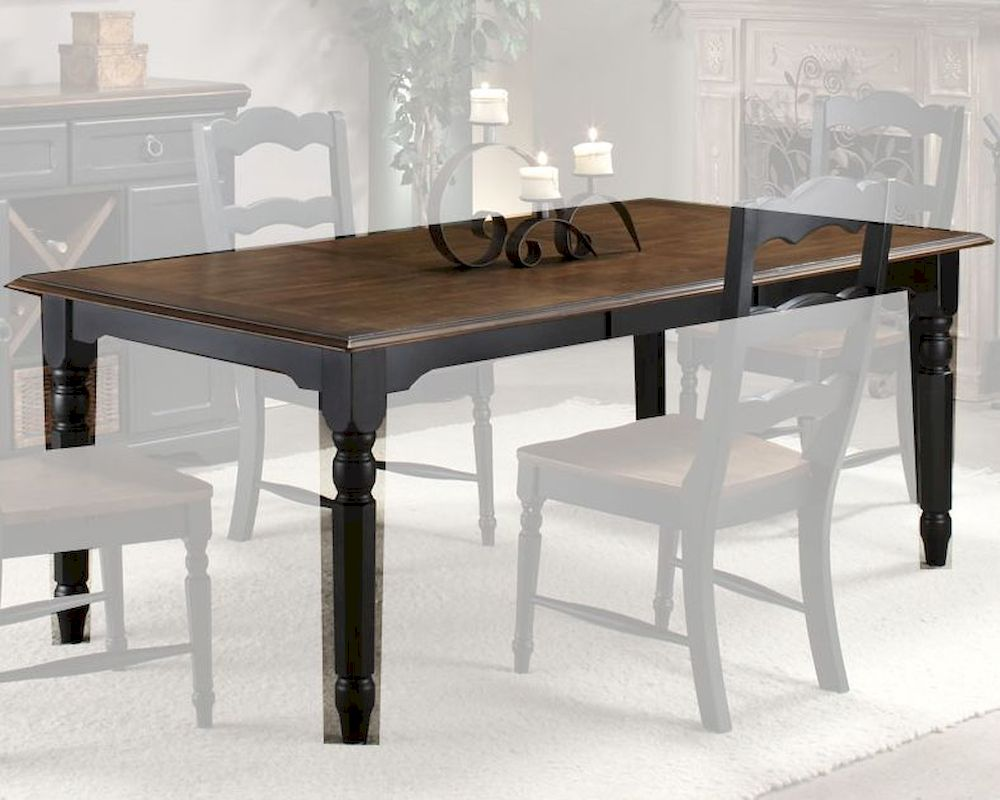 we share intercon solid rubberwood dining table princeton inpn4278tab