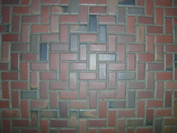 We Share Interior Contempo Brown Herringbone Tile Layout Design Medium
