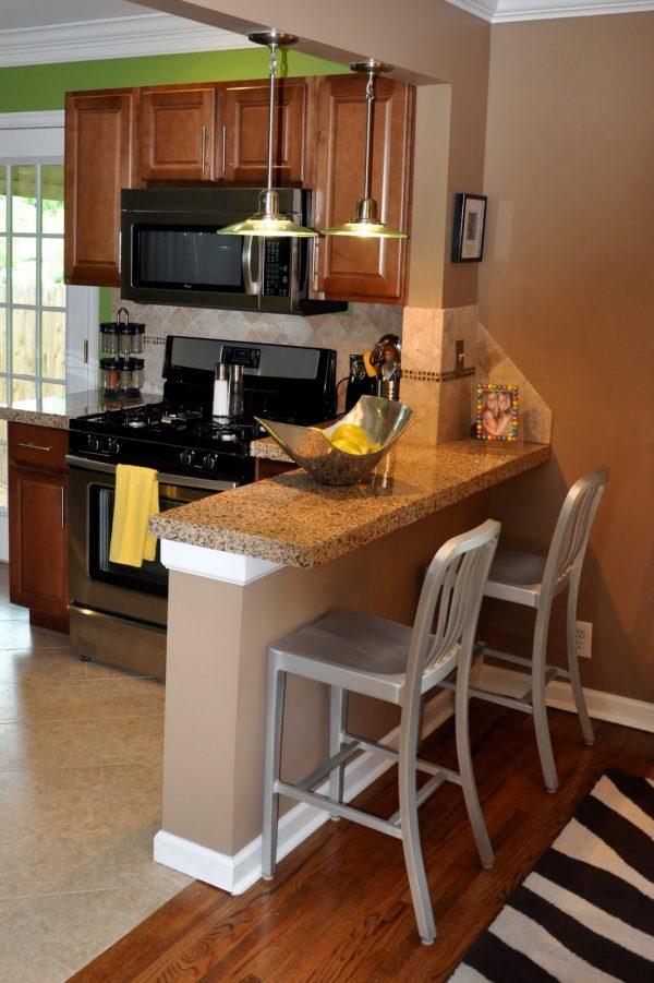 We Share Interior Elegant Kitchen Design Ideas With Oak Wood Medium