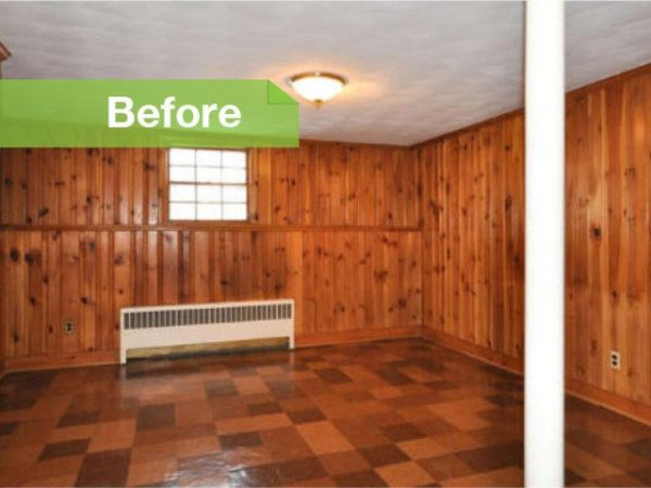 We Share Knotty To Nice Painted Wood Paneling Lightens A Rooms Look Medium