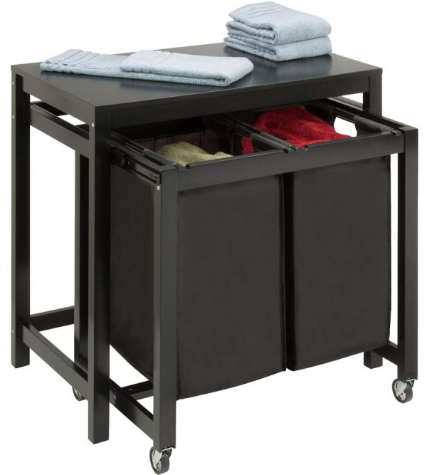 We Share Laundry Folding Table Double Sorter In Laundry Room Medium