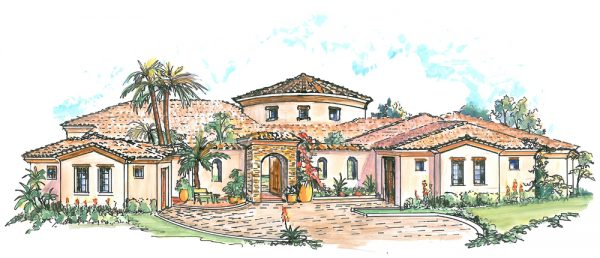 We Share Mexican Hacienda Floor Plans Style House Hecho House Medium