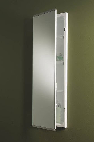 We Share Narrow Bathroom Wall Cabinet  Choozone Medium