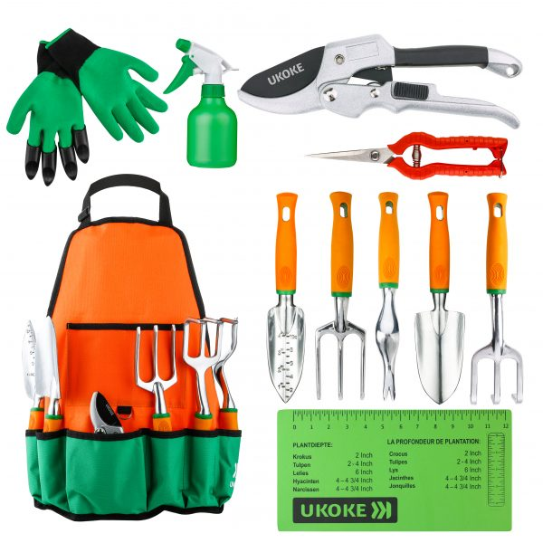 We Share  Recomeneded Garden Tools Set Ukoke 12 Piece Aluminum Medium