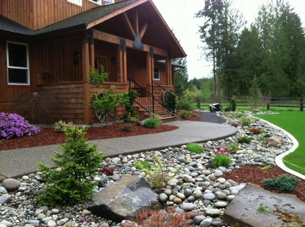 We share River Rock Landscaping For Your Natural Exterior