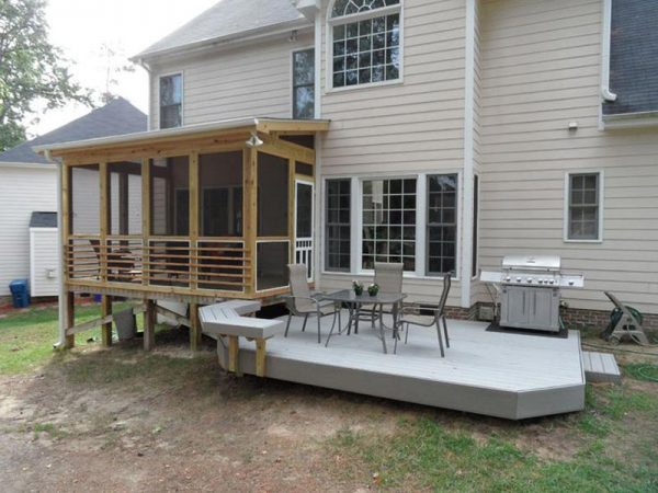 We Share Screened In Deck For More Comfortable Outdoor Resting Medium