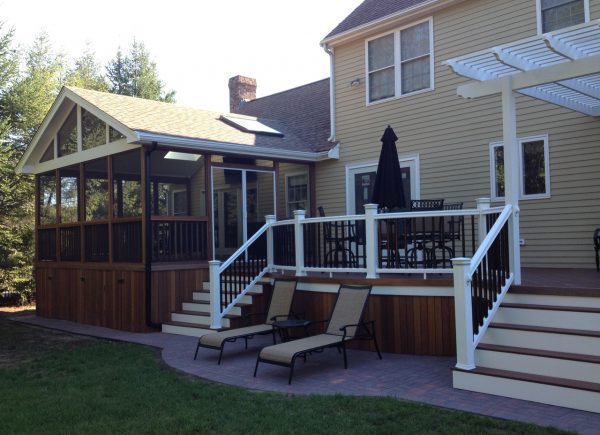 We Share Screenedin Deck Design Ideas By Archadeckst Louis Medium
