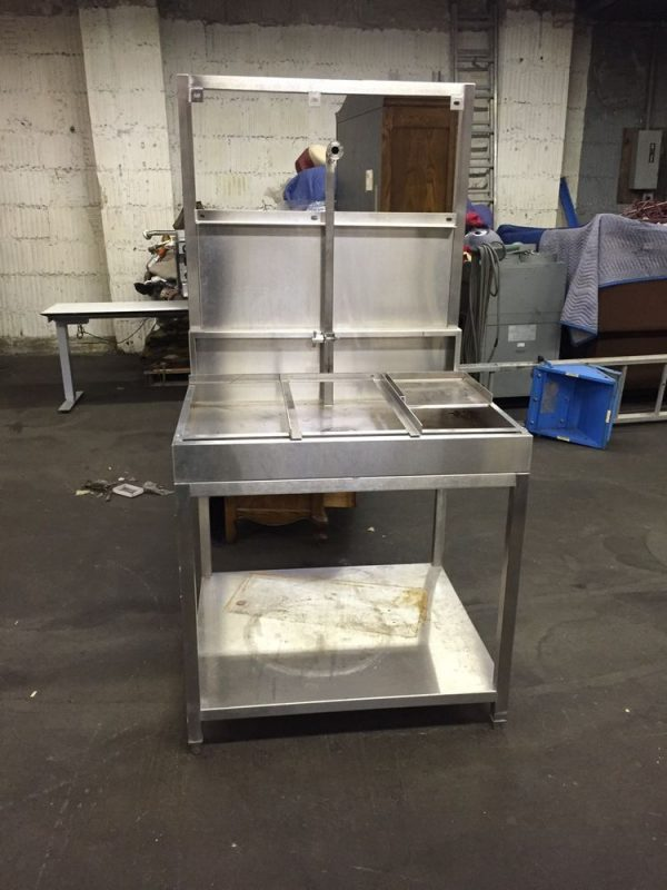 We Share Stainless Steel Animal Dog Wash Table Sink Commercial Medium